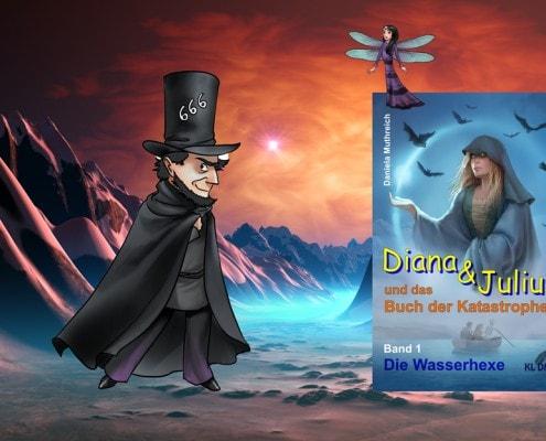 Abenteuer mit Diana & Julius: Ein Fantasiebuch  KLDM