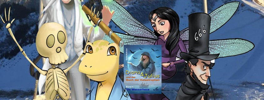 Daniela Muthreich - Kinderbuch Diana & Julius für fantastische Abenteuer