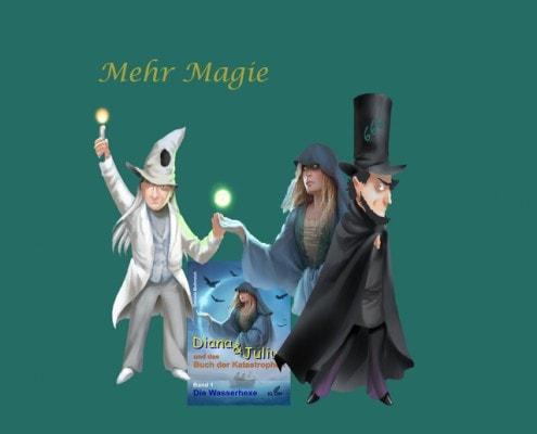 Fantasiebuch mit mehr Magie  Daniela Muthreich