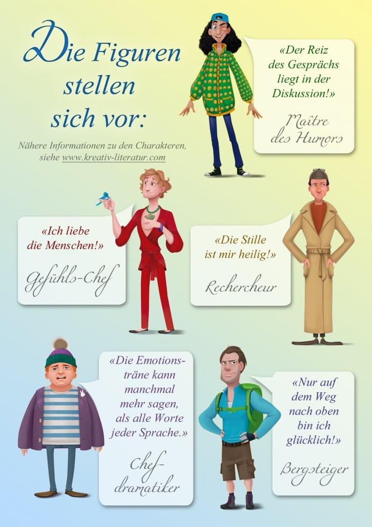 """Figuren aus """"Kreativer Gesellschaftsumbruch"""" von Daniela Muthreich"""